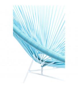 Silla Spagetti azul claro
