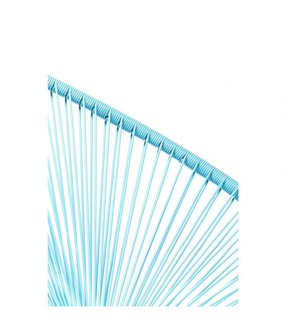 Silla Spaghetti azul claro