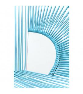 Banco Spaghetti azul claro