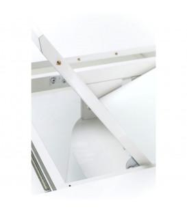 Mesa extensible Benvenuto blanco 200 (50)x110cm
