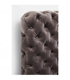 Cama Desire gris plata 180x200 cm