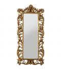 Espejo Sun King rectangular dorado 190x90cm