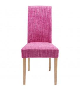 Silla tapizada Econo Slim Salty rosa