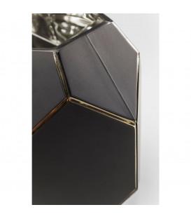 Vasija Art Pastell negro 22cm