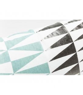 Cojín Trixi verde 50x30cm