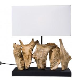 Lámpara mesa natural Vertical