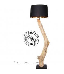 Lámpara de pie natural Straight