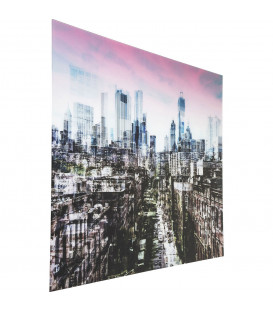 Cuadro cristal NY Skyline 120x160cm