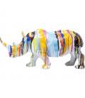 Figura decorativa Rhino Colores 26cm