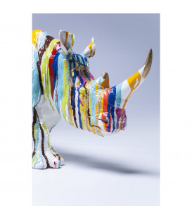 Figura decorativa Rhino Colores 26cm