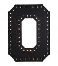 Objeto luminoso O negro LED