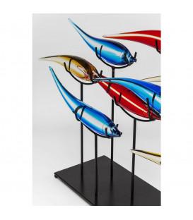 Objeto decorativo Pesce Colore (11 piezas)
