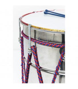 Objeto decorativo Trommel Musica Silver 62cm