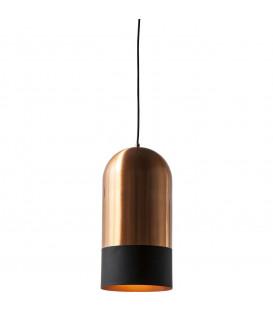 Lámpara Campana Duo cobre Ø20cm