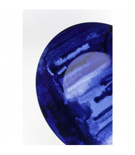 Plato azul Emotion Ø27cm
