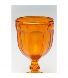Vaso vino Goblet naranja