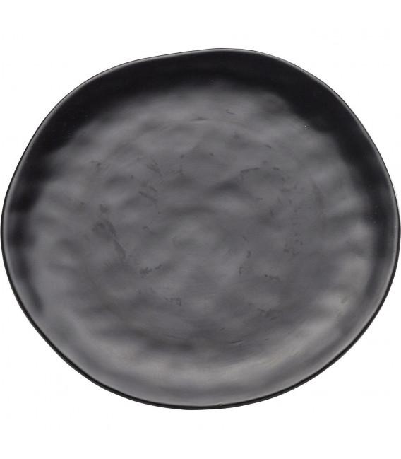 Plato hondo Organic negro Ø22cm