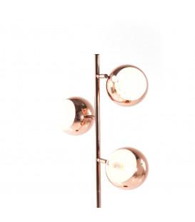 Lámpara pie Calotta cobre