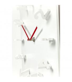 Reloj pared Fila blanco