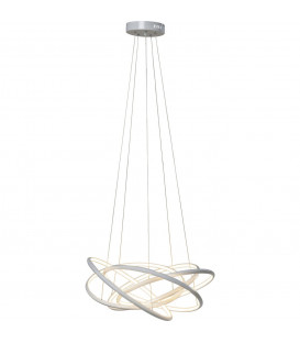 Lámpara Saturn LED blanco grande