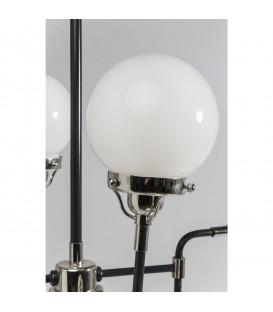 Lámpara Pipe Milk 8 (plata)
