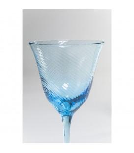 Copa vino tinto Capri azul claro
