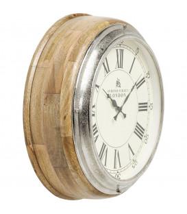 Reloj pared Picadilly Circus madera