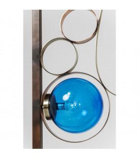 Lámpara de pie Balloon colores cuadrado LED