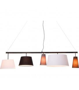 Lámpara Parecchi Negra 160
