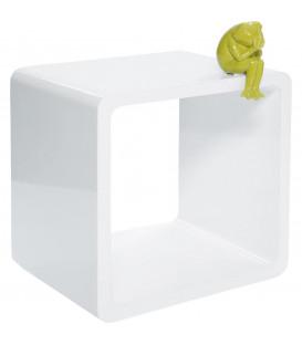 Cubo Lounge MDF blanco