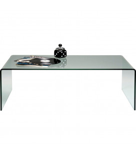Mesa centro Clear Club Basic 120x40 cm