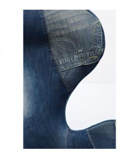 Butaca giratoria Lounge Jeans
