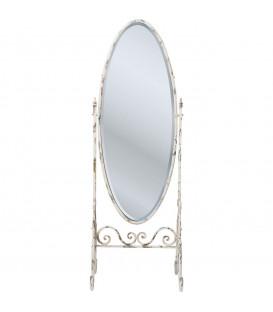 Espejo de pie Romantico blanco