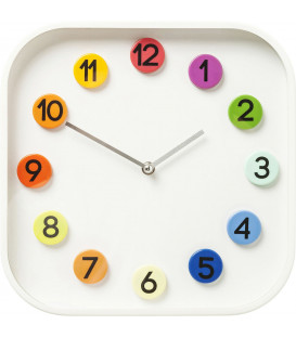 Reloj pared Numbers Colore 31x31cm
