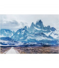 cuadro cristal road to the mountains 100 x 150 cm