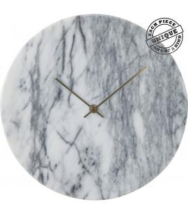 Reloj pared Desire Mármol blanco