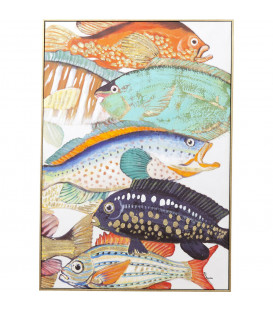 Cuadro Fish Meeting Two 100x70 cm