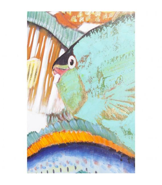 Cuadro Fish Meeting Two 100x70 cm