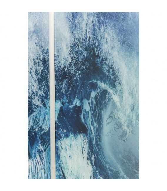 Cuadro cristal Tríptico Wave 160x240cm (3/Set)