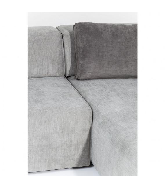 Sofá Infinity Ottomane dcha. gris
