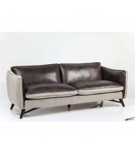 Sofa de piel 3 Plazas fashionista