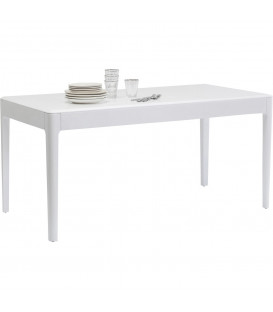 Mesa Brooklyn blanco 160x80cm