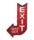 Decoración pared  Exit