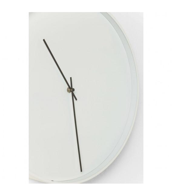 Reloj pared Timeless White Ø40cm