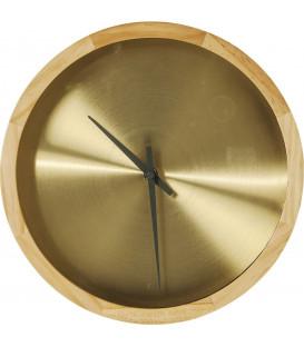 Reloj pared Edge dorado Ø29cm