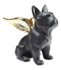 Figura decorativa Sitting Angel Dog