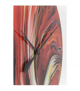 Reloj pared Glas Chaos Fire Ø80cm