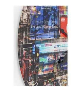 Reloj pared Glas Piccadilly Circus Ø80cm
