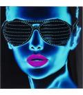 Cuadro cristal Tough Girl 120x120cm