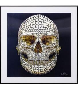 Cuadro 3D Skull 60x60cm